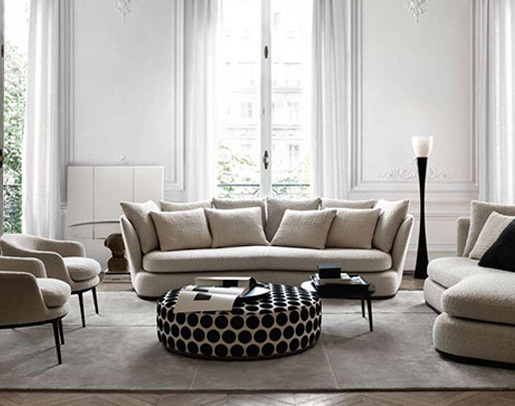 salón con sofá Apollo